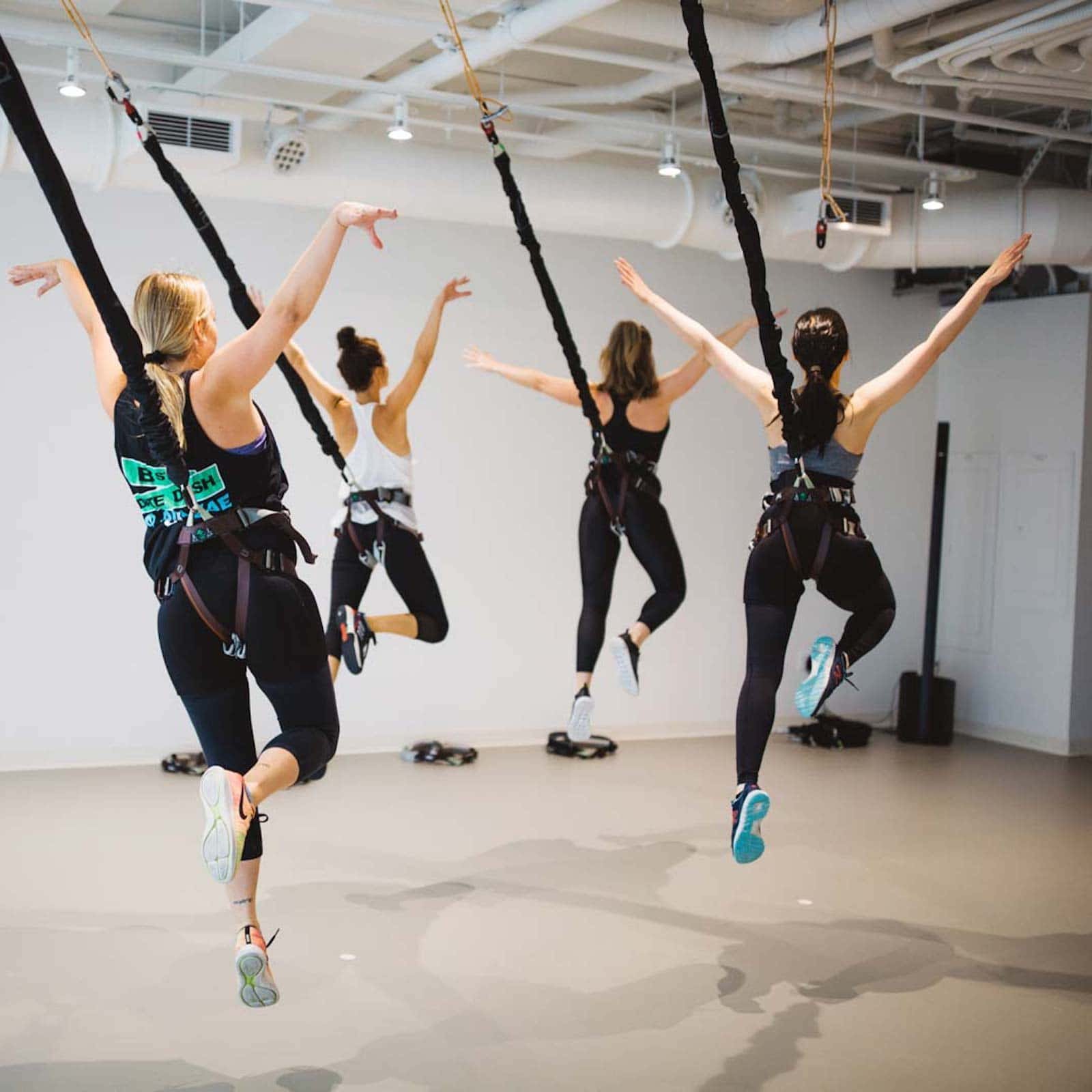 Why The Bungee Yoga Class Is The Coolest Exercise Class On ...