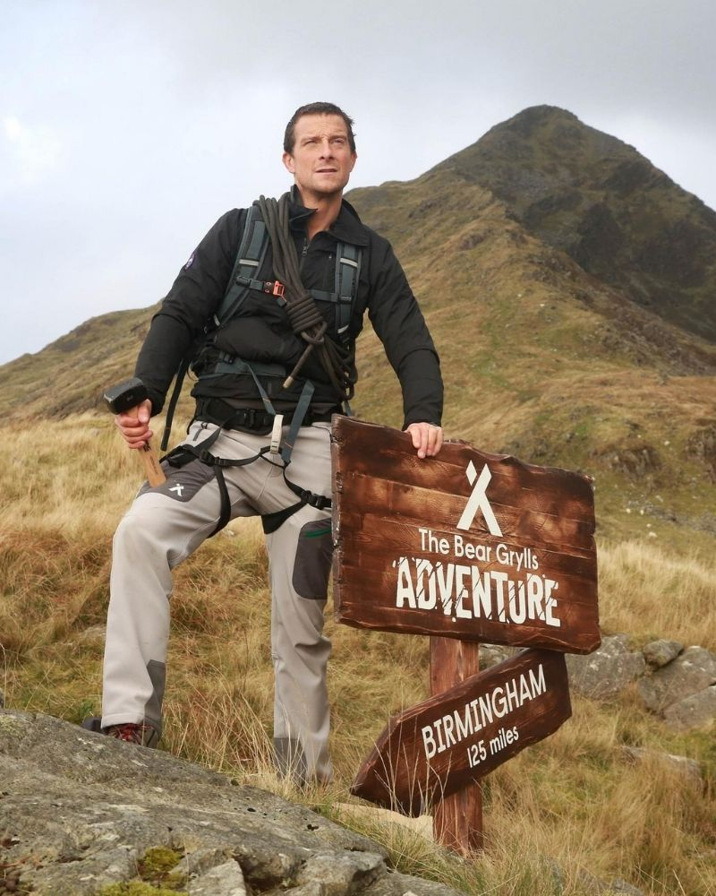 Bear Grylls opened the Bear Grylls Survival Academy
