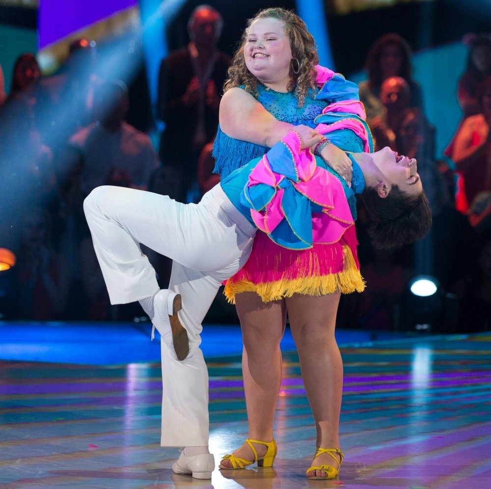 Honey Boo Boo was the star of Dancing with the Stars: Juniors in 2018