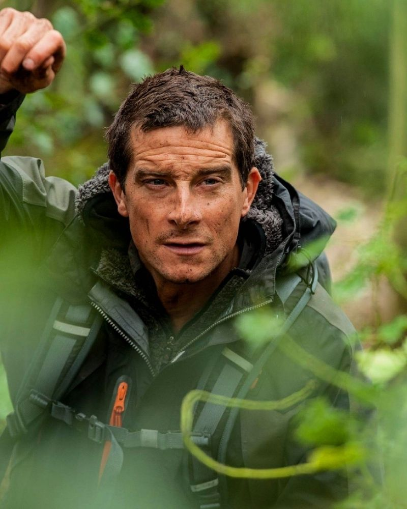 Bear Grylls claims he's had more than 4,000 mosquito bites