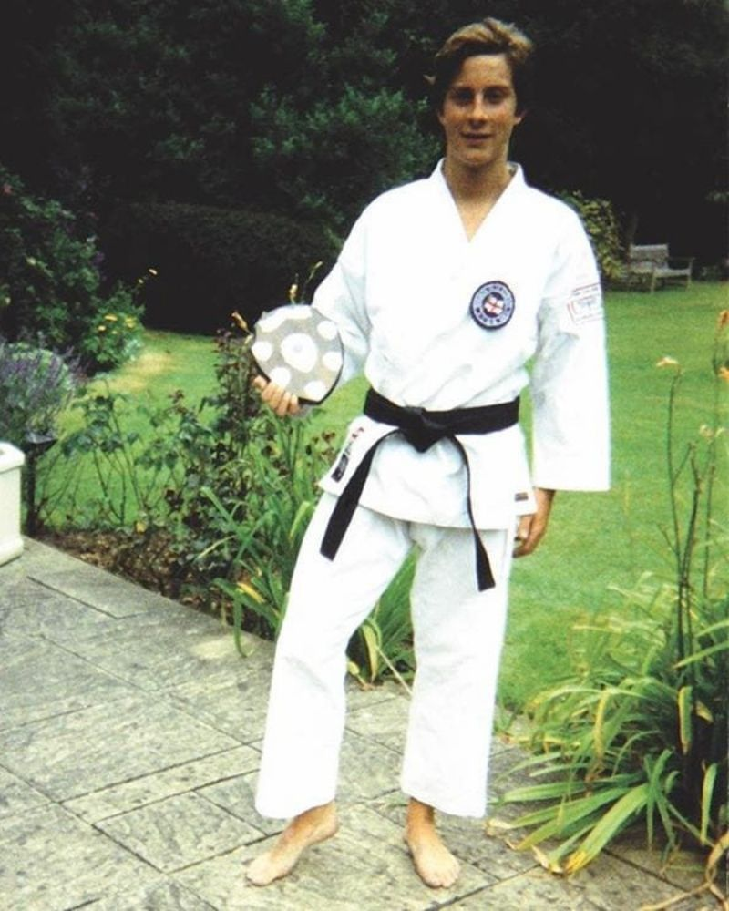 Bear Grylls holds a black belt in Shotokan