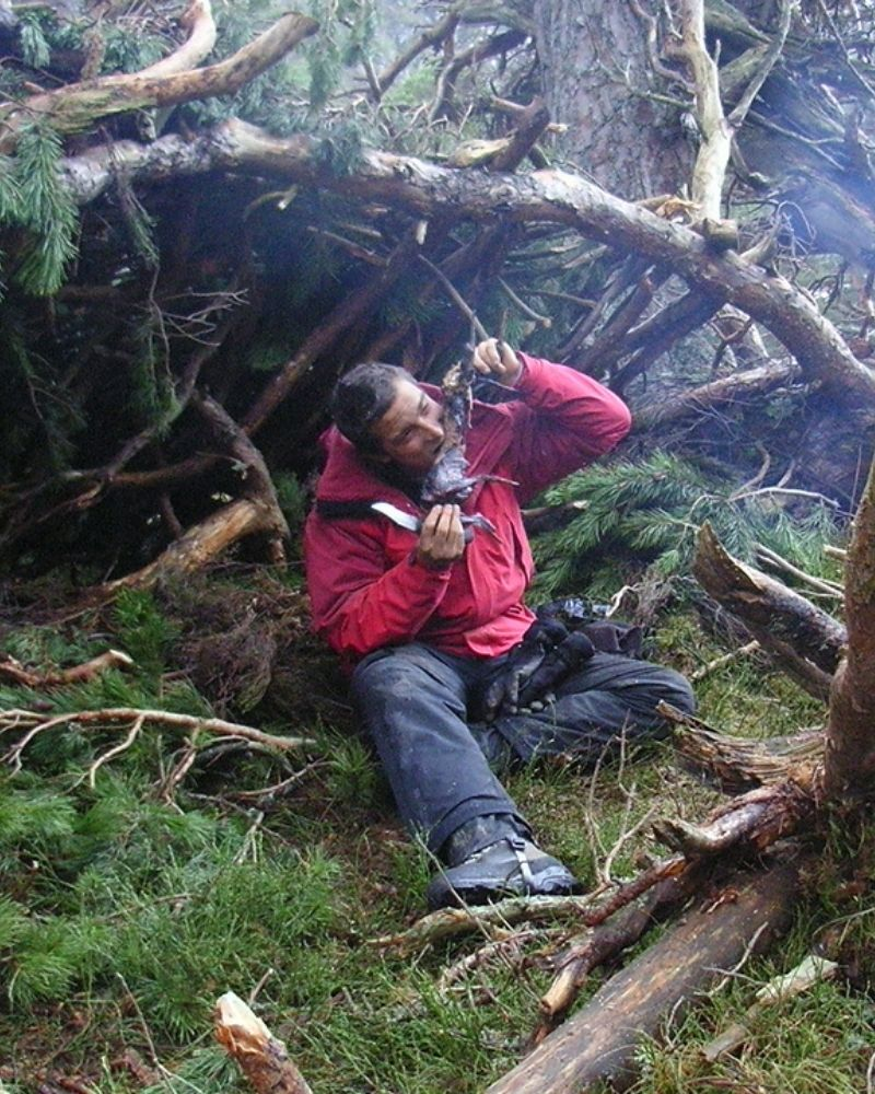 Many of the survival techniques on Man vs. Wild aren't real
