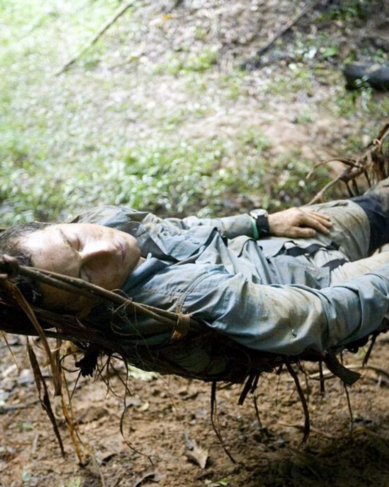Bear Grylls doesn't sleep in the wild on Man vs. Wild