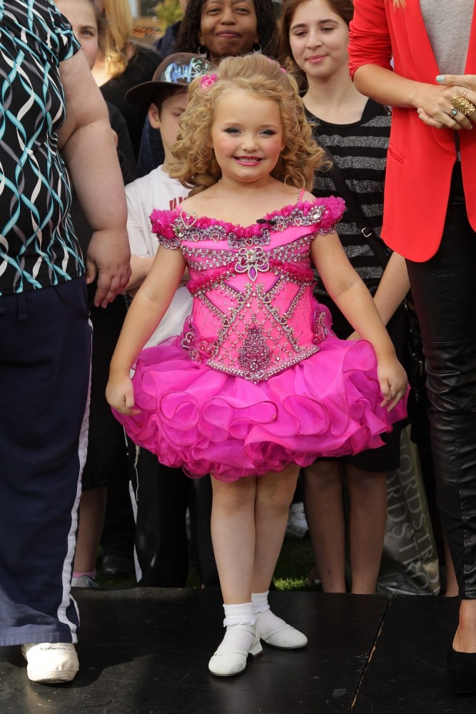 Alana Thompson was handed her own show 'Here Comes Honey Boo Boo'